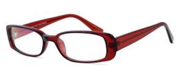 Moda Vision 8004 Designer Eyeglasses in Wine :: Rx Single Vision