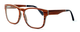 """Specs of Wood Designer Wooden Eyewear Made in the USA """"California Redwood"""" in Layered Redwood (Cherry) :: Rx Single Vision"""