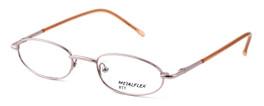 Calabria Kids Fit MetalFlex Designer Eyeglasses TT in Pink :: Rx Single Vision