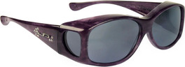 Jonathan Paul® Fitovers Eyewear Kids Extra-Small Glides in Purple Haze & Gray G005S