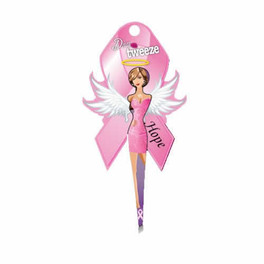 Diva Tweezer Pink Ribbon Theme Hope