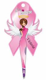 Diva Tweezer Pink Ribbon Theme Victoria