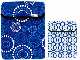 Fashion Smart Reversible Tablet Sleeve in Blue