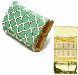 Fashion 7-Day Pill Box in Moroccan-Jade