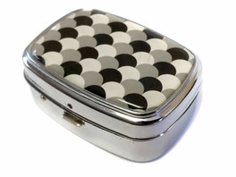 Elite Light Up Portable Pill Box in Style 8