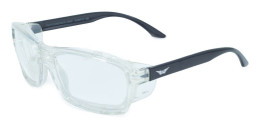 Global Vision Eyewear Safety Series RX-I in Black-Clear