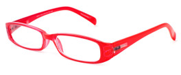 Artis Occhiali Bottero Designer Reading Glasses in Rosso (Red)