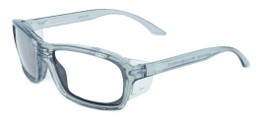 Global Vision Eyewear Full Lens RX Safety Series RX-I in Gray/Gray