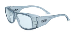 Global Vision Eyewear Full Lens RX Safety Series RX-Z in Gray