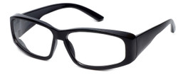 Global Vision Eyewear Full Lens RX Safety Series RX-G in Black
