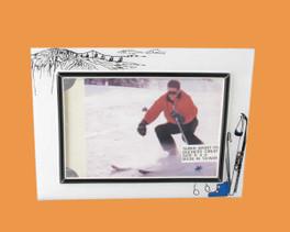 Speert Sports Photo Frame Skiing Theme (Horizontal)
