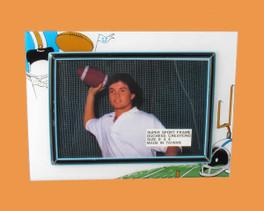 Speert Sports Photo Frame Football Theme (Horizontal)