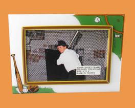 Speert Sports Photo Frame Baseball Theme (Horizontal)