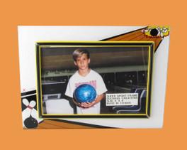 Speert Sports Photo Frame Bowling Theme (Horizontal)