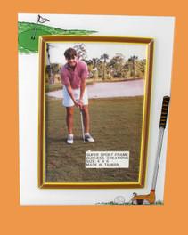 Speert Sports Photo Frame Golf Theme (Vertical)