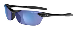 Tifosi High Performance Sunglasses Seek in Gloss-Black & Smoke Blue Lens