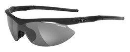 Tifosi High Performance Sunglasses Slip in Matte-Black with 3 Lens Set