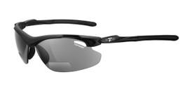 Tifosi High Performance Bi-Focal Reading Sunglasses Tyrant in Matte-Black & Smoke Lens