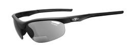 Tifosi High Performance Bi-Focal Reading Sunglasses Veloce in Matte-Black & Smoke Lens