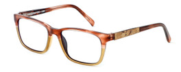 Parkman Handcrafted Reading Glasses Francesa in Cranberry Tan with Wine Cork ; Made in the USA
