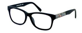 Parkman Handcrafted Reading Glasses Windemere in Matte-Black with Magazine ; Made in the USA