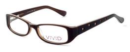 Calabria Optical Viv Kids Designer Reading Glasses 120 in Brown