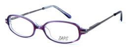 Calabria Viv Kids Zaps 3 Designer Reading Glasses in Purple