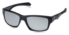 Oakley Designer Sunglasses Jupiter OO9135-09 in Matte-Black & Polarized Black Iridium Lens