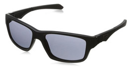 Oakley Designer Sunglasses Jupiter OO9135-25 in Matte-Black & Grey Lens