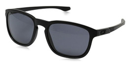 Oakley Designer Sunglasses Enduro OO9223-20 in Matte-Black & Grey Lens