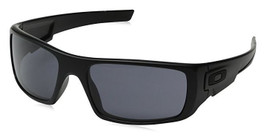 Oakley Designer Sunglasses Crankshaft OO9239-12 in Matte-Black & Grey Lens