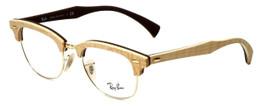 Ray-Ban Designer Eyeglasses RX5154M-5558 in Wood 51mm :: Custom Left & Right Lens