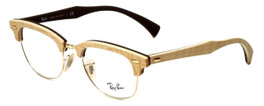 Ray-Ban Designer Eyeglasses RX5154M-5558 in Wood 51mm :: Rx Single Vision