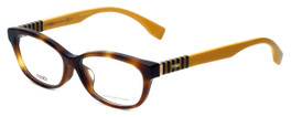 Fendi Designer Eyeglasses FF0072F-7TA in Havana 53mm :: Custom Left & Right Lens