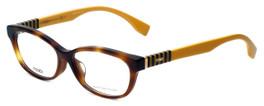 Fendi Designer Eyeglasses FF0072F-7TA in Havana 53mm :: Rx Single Vision