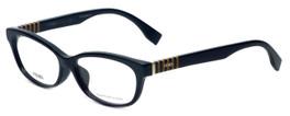 Fendi Designer Reading Glasses FF0072F-7SY in Black 53mm