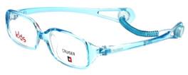 Cruiser Kids Designer Reading Glasses 2889 in Crystal-Teal 43mm