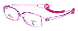 Cruiser Kids Designer Reading Glasses 2889 in Crystal-Purple 43mm