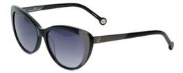 Carolina Herrera Designer Sunglasses SHE648-0T29 in Black Grey Gradient Lens