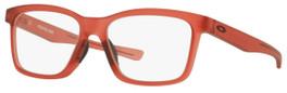 Oakley Designer Reading Glasses Fenceline OX8069-1053 in Frosted-Red 53mm