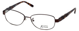 Guess by Marciano Designer Reading Glasses GM155-BRNTO in Brown-Tort