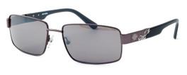 Harley-Davidson Designer Sunglasses HDX841-GUN in Gunmetal Frame & Brown/Flash mirror Lens