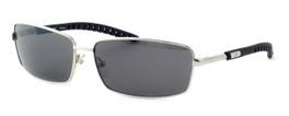 Harley-Davidson Designer Sunglasses HDX845-SI in Silver Frame & Green Lens