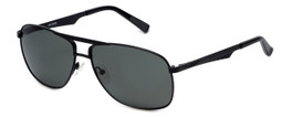 Harley-Davidson Official Designer Sunglasses HD0899X-02A in Matte-Black Frame with Green Lens