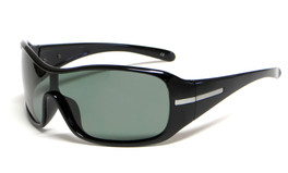Grand Banks Designer Polarized Sunglasses 1247 in Black with Grey Lens