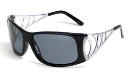 Grand Banks Designer Polarized Sunglasses 9015 in Black