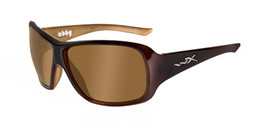 Wiley X Abby in Espresso Brown and Bronze Lens