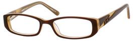 Seventeen 5350 Designer Reading Glasses in Brown