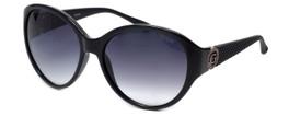 Guess  Designer Sunglasses GU7347 in Black Frame with Grey Gradient Lens