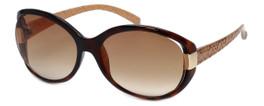 Guess  Designer Sunglasses GUF214 in Tortoise Frame with Amber Gradient Lens